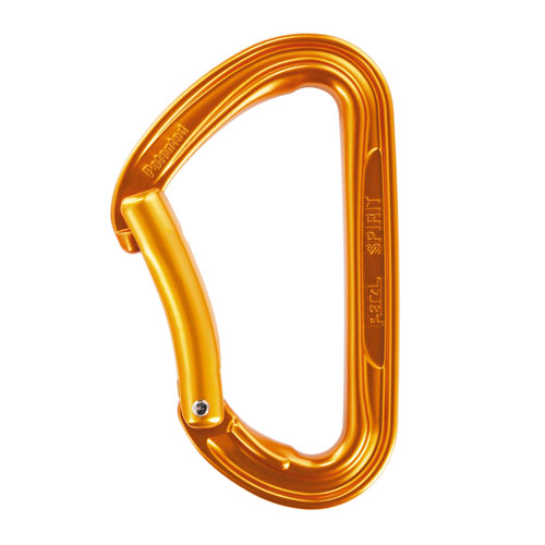 Petzl Spirit Accessory Carabiner - Bent Gate - #M53 B
