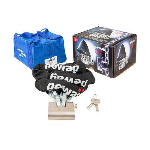 """Pewag 1/2"""" (12mm) x 6ft Security Chain-In-A-Box Kit"""