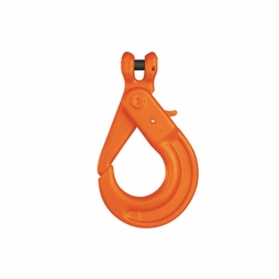"Pewag KLH5.50 7/32"" Grade 100 Self-Closing Safety Hook - 2700 lbs WLL - #32024"