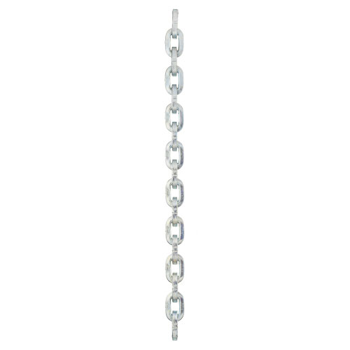 "Pewag 9/32"" (7mm) Galvanized Square Security Chain - #21148"