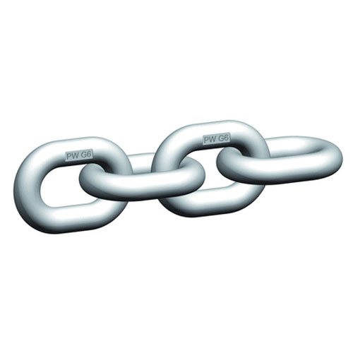 """Pewag WOX10 3/8"""" Grade 63 Stainless Steel Chain - 5500 lbs WLL - #42270"""