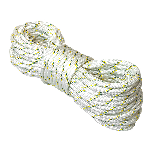 "Portable Winch 1/2"" Double Braid Polyester Rope - 7275 lbs Breaking Strength - #PCA-1215M"