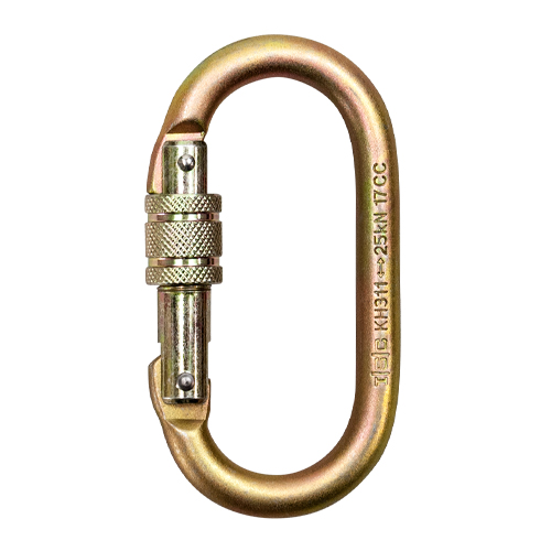 Portable Winch Steel Locking Carabiner - #PCA-1276