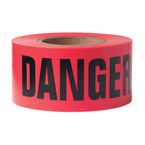 "Presco 3"" x 1000 ft Danger Tape"