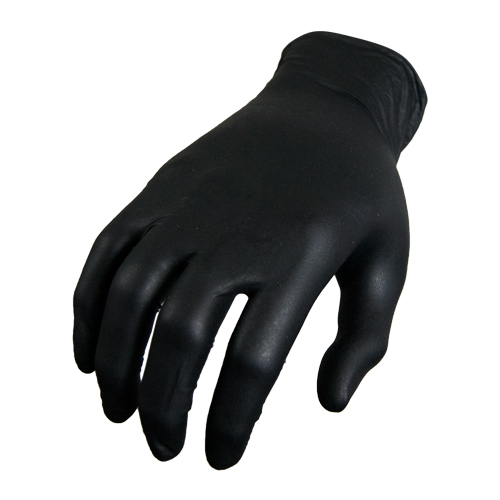 Red Steer Black Diesel Nitrile Glove