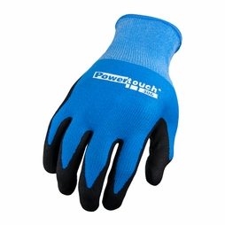 Red Steer PowerTouch Nitrile Dot Palm Glove