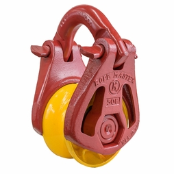 Ropemaster 508 Wide Throat Rigging Block - 15 Ton WLL