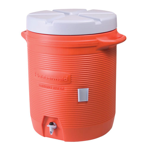 Rubbermaid Orange 5 Gallon Water Cooler