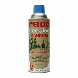 Rudd Blue Tree & Log Marking Paint - Per Can