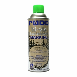 Rudd Hi-Vis Green Tree & Log Marking Paint - Per Can
