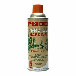 Rudd Orange Tree & Log Marking Paint - Per Can