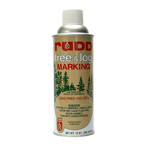 Rudd White Tree & Log Marking Paint - Per Can