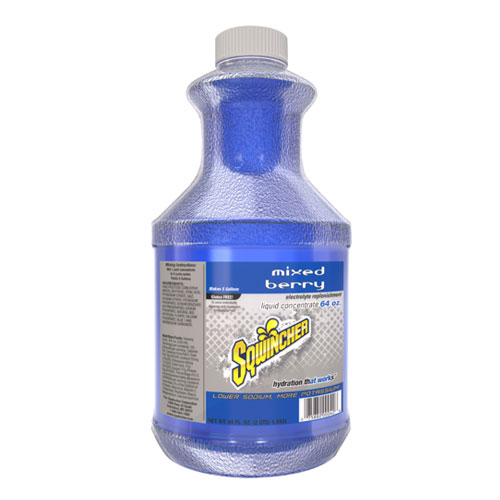Sqwincher 64 oz Mixed Berry Concentrate