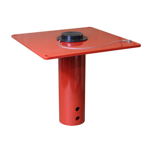 Thern Flush Mount Davit Crane Base - #5BF10