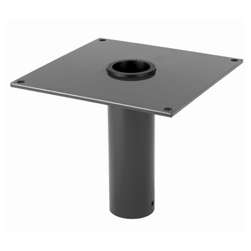Thern Flush Mount Davit Crane Base - 316 Stainless Steel Finish - #5BF5S316
