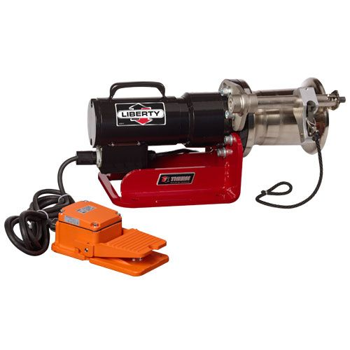Thern Liberty Capstan Winch - 1000 lbs Lifting Capacity - #3CP1M-AFS