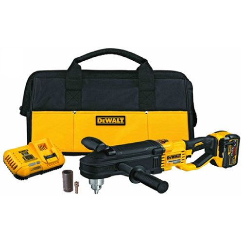 Thern Super-Duty Right Angle 60V Cordless Drill Kit - #ED400-DW09