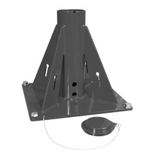 Thern Pedestal Davit Crane Base - Powder Coated Finish - #5BP10