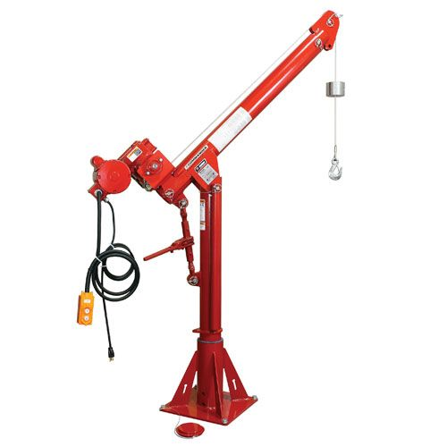 Thern Portable Davit Crane - Commander 1000 Series - 1000 lbs WLL - #5PT10-E2