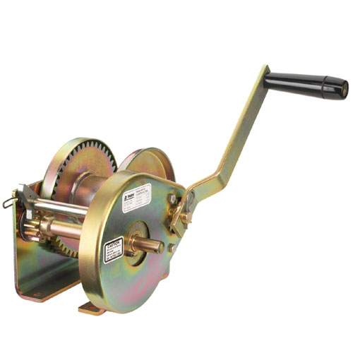 Thern Spur Gear Hand Winch - 2000 lbs Pulling Capacity - #M4312