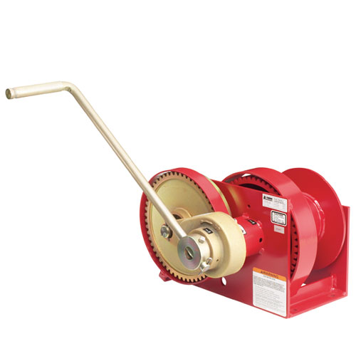 Thern Spur Gear Hand Winch w/ Brake - 4000 lbs Lifting Capacity - #M452B-A