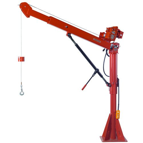 Thern Stationary Davit Crane - Captain Series - 2800 lbs WLL - #5FT25-E2