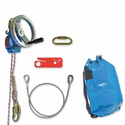 Tractel 300 ft Derope Up A Rescue / Descent Device Kit