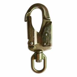 USR ProClimb ANSI Steel Swivel Snap Hook - Double-Locking