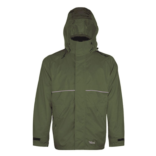 Viking Journeyman 420D Green Rain Jacket