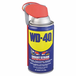 WD-40 Spray Lubricant w/ Smart Straw - 8 oz