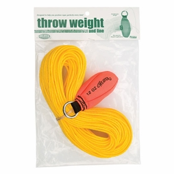 Weaver 12 oz Throw Weight Kit - Blaze Orange - #08-98327-BO