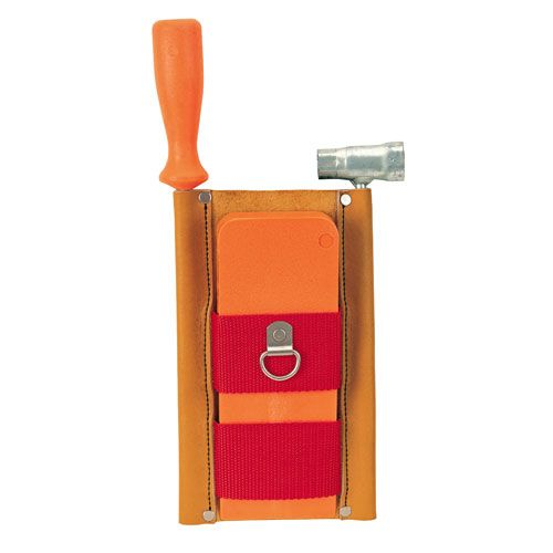 Weaver Chainsaw Tool & Wedge Pouch - Leather - #08-97231
