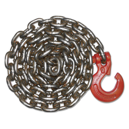 "3/8"" x 10 ft Logging Choker Chain - G100 Alloy Chain"