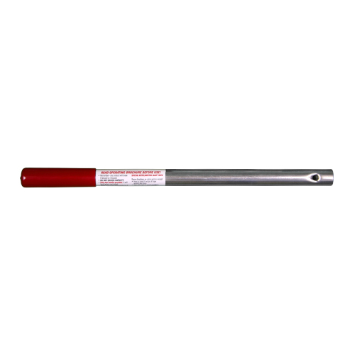 """Wyeth-Scott 2T Replacement Handle - 18"""" Length - Red - #P7"""