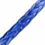"Yale Cordage 1/2"" x 100 ft Ultrex UHMWPE Synthetic Winch Line - 37400 lbs Breaking Strength"