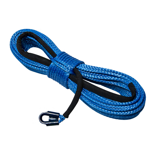 """Yale Cordage 1/2"""" x 75 ft Ultrex UHMWPE Synthetic Winch Line - 37400 lbs Breaking Strength"""