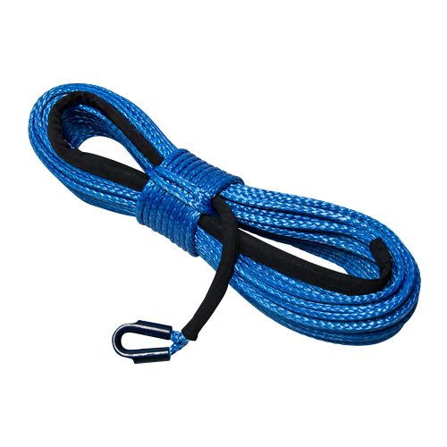 """Yale Cordage 3/4"""" x 125 ft Ultrex UHMWPE Synthetic Winch Line - 75000 lbs Breaking Strength"""