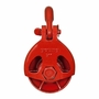 Young 511 Wide Throat Rigging Block - 22 Ton WLL