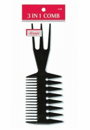 Annie 3 In 1 Tool Comb #208
