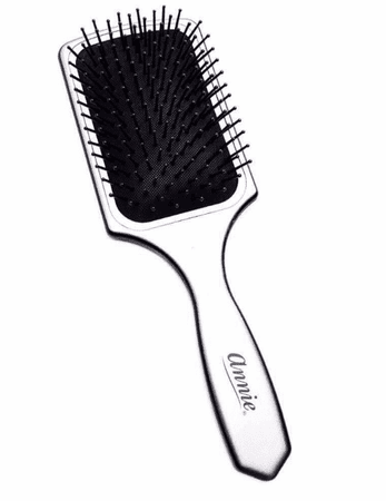 Annie Paddle Brush Silver Large #2210