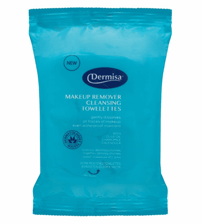 Dermisa Cleansing Make-Up Remover Towelettes 25 Count