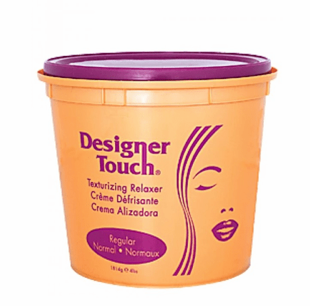 Designer Touch Texturizing Relaxer Regular 4 lb / 64 oz Tub