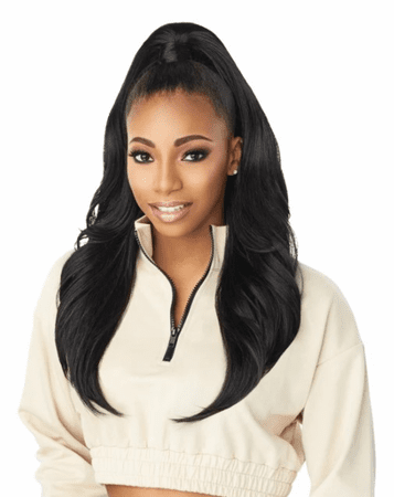 Sensationnel Instant Up & Down Pony Wrap Half Wig UD 001 Synthetic