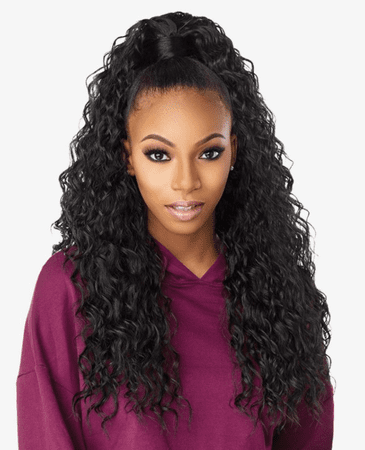 Sensationnel Instant Up & Down Pony Wrap Half Wig UD 002 Synthetic