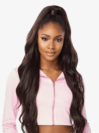 Sensationnel Instant Up & Down Pony Wrap Half Wig UD 004 Synthetic