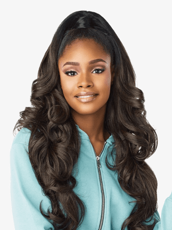 Sensationnel Instant Up & Down Pony Wrap Half Wig UD 006 Synthetic