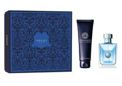 Versace Pour Homme by Versace Fragrance for Men 2 Piece Gift Set