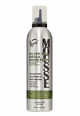 Vigorol Mousse Olive Oil Mega Moisture 12 oz