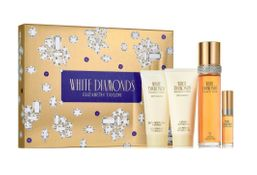 White Diamonds by Elizabeth Taylor Fragrance for Women 4 Piece Gift Set