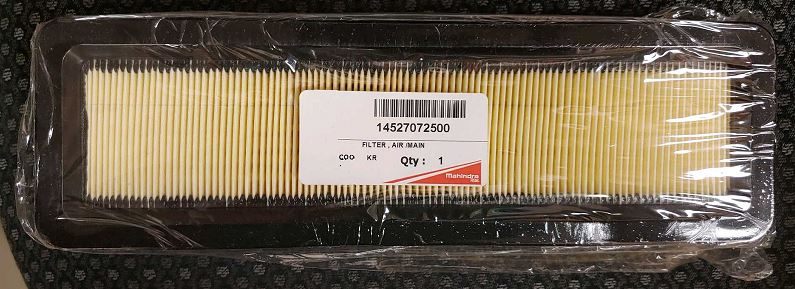 CABIN AIR FILTER FOR 9125 MAHINDRA TRACTOR ***TRACTOR REQUIRES QTY 2*** (14527072500)